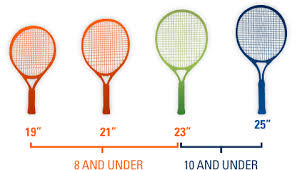racquet sizes